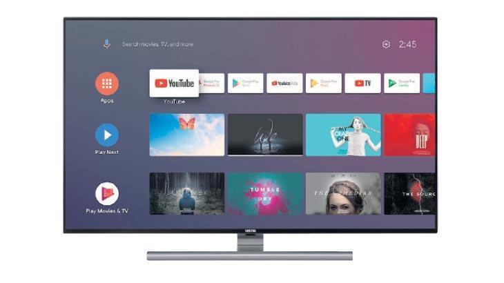 Vestel Android TV görücüye çıktı