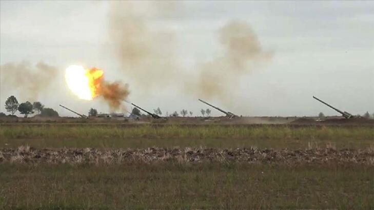 Azerbaycan ordusu ateşkese rağmen saldıran Ermenistan askerlerini geri püskürttü