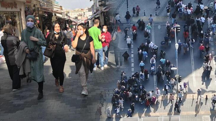 İstanbul'da şok eden manzara! Ben koronaya da inanmıyorum