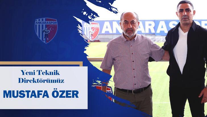 Ankaraspor'un yeni teknik direktörü Mustafa Özer