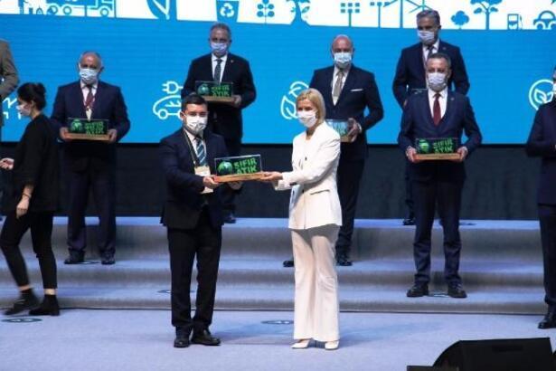 Kepez'in 'Sıfır Atık Projesi'ne ödül