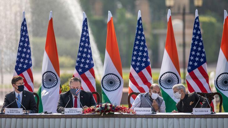 ABD Çin'e karşı askeri uydularını Hindistan'a açtı