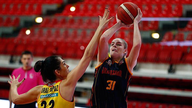 Galatasaray Kadın Basketbol Takımı'nda ABD'li oyuncu Alarie ile yollar ayrıldı
