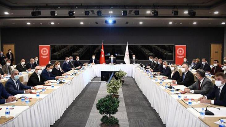 Bakan Koca'dan İstanbul'da kritik toplantı! 'Organize olalım' deyip paylaştı