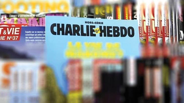 Son dakika... Fransız Charlie Hebdo dergisinden Cumhurbaşkanı Erdoğan'a alçak saldırı!