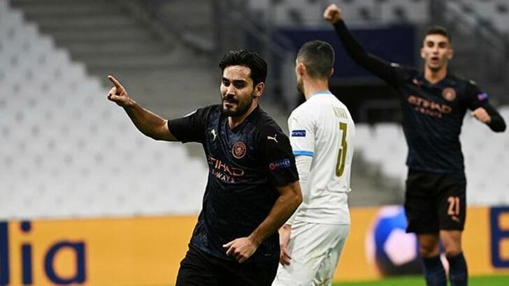 Marsilya-Manchester City: 0-3
