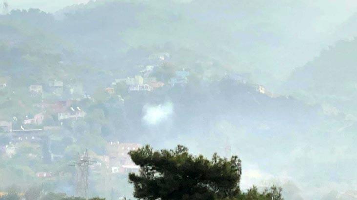 Hatay'daki yangına sabahın ilk ışıklarıyla havadan müdahale sürüyor!