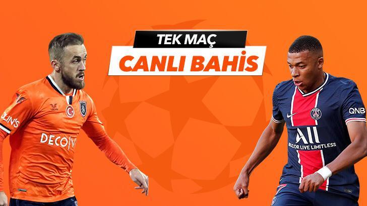 Başakşehir - PSG karşılaşmasında Canlı Bahis heyecanı Misli.com'da!