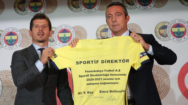 Son dakika | Fenerbahçe'de Emre Belözoğlu resmen sportif direktör!