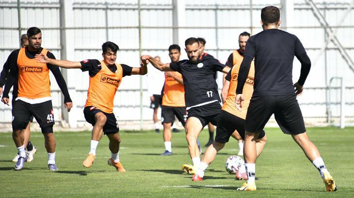 Konyaspor, Başakşehir hazırlıklarını sürdürdü