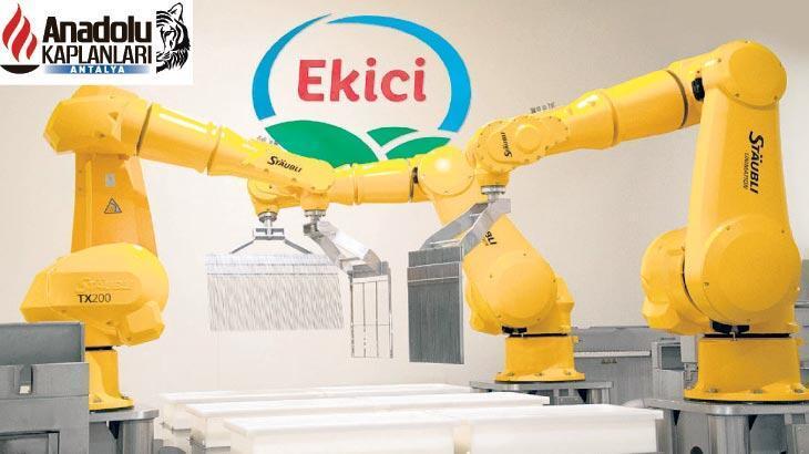 Tam otomasyon peynir üretiyor