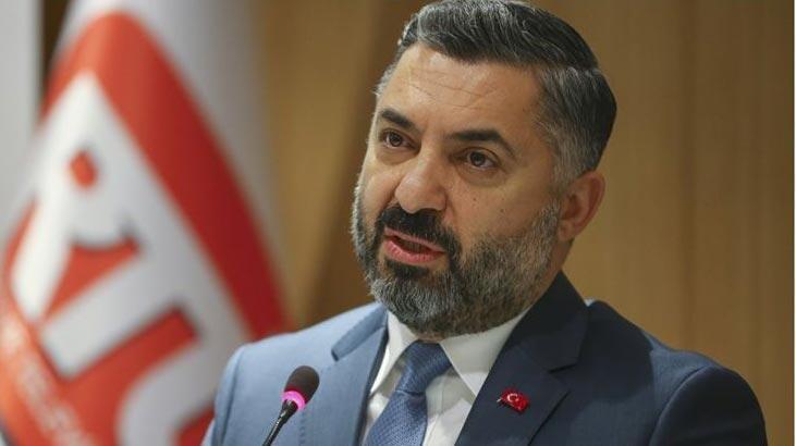 RTÜK Başkanı Şahin'den Tele 1 açıklaması