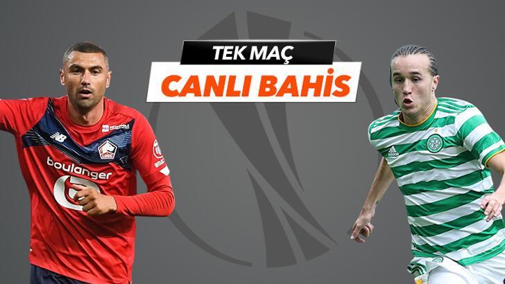 Lille - Celtic karşılaşmasında Canlı Bahis heyecanı Misli.com'da!