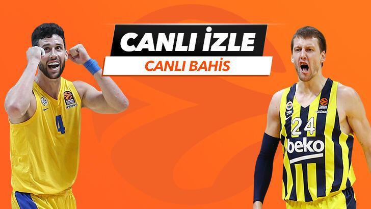 Maccabi Tel Aviv - Fenerbahçe Beko karşılaşmasında Canlı Bahis heyecanı Misli.com'da!