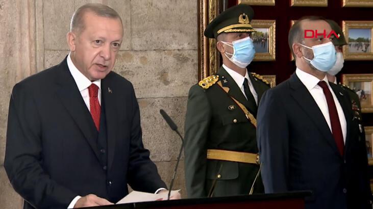 Son dakika... Cumhurbaşkanı Erdoğan'dan Cumhuyet'in 97. yılında dikkat çeken mesaj
