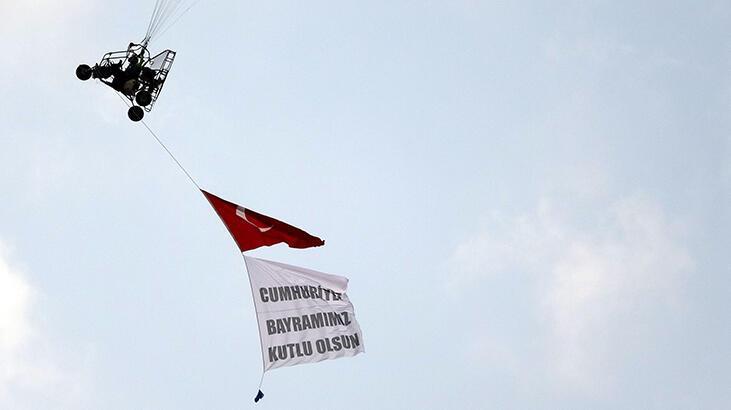 Trabzon'da, Cumhuriyet Bayramı coşkusu