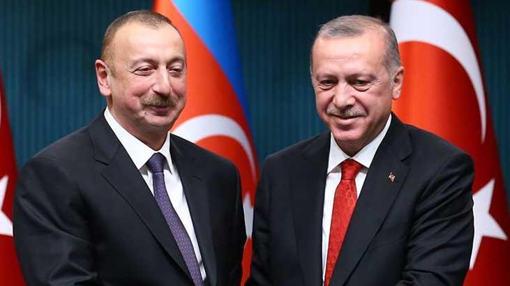 Son dakika... Cumhurbaşkanı Erdoğan, Aliyev ile görüştü