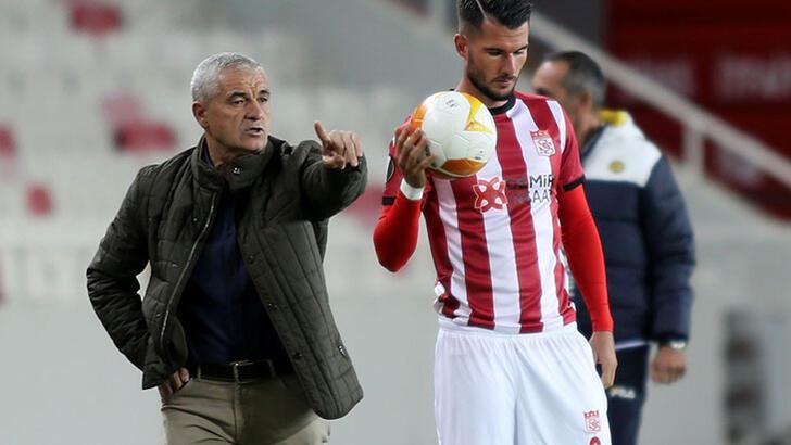 """Son dakika - Sivasspor'da Rıza Çalımbay: """"Bu yenilgiyi hak etmedik"""""""