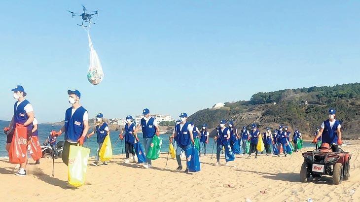 Kıyılarda temizlik dalgası