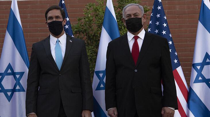 ABD Savunma Bakanı Esper İsrail'de!