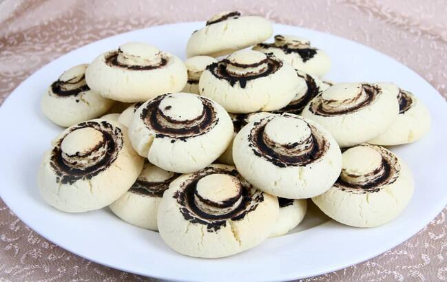 Mantar kurabiye tarifi - yapımı   Mantar kurabiye malzemeleri, nasıl yapılır?