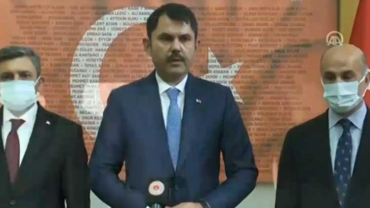 Son dakika... İzmir'de şiddetli deprem! Bakan Kurum'dan flaş açıklama