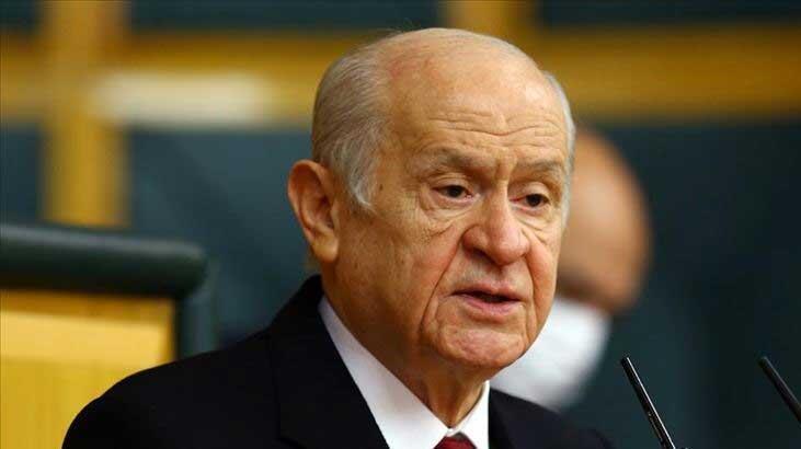MHP lideri Devlet Bahçeli'den 'geçmiş olsun' mesajı