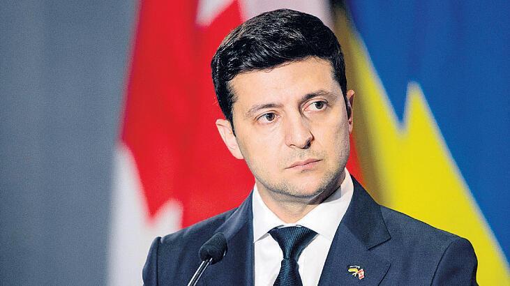 """Ukrayna Devlet Başkanı Zelenskiy'den Türkiye'ye """"geçmiş olsun"""" mesajı"""