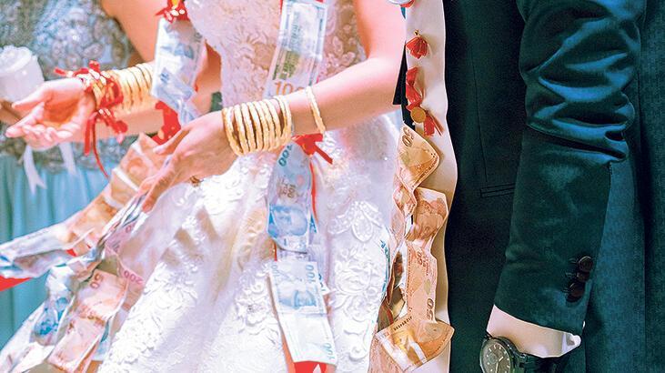 Nişana, düğüne IBAN'lı davet!