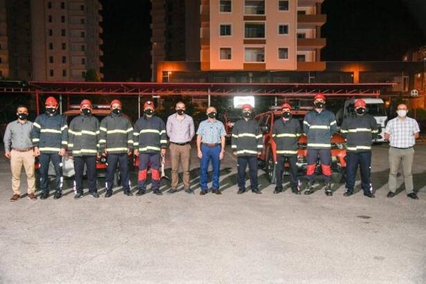 Adana'dan İzmir'e 8 kişilik uzman ekip gönderildi