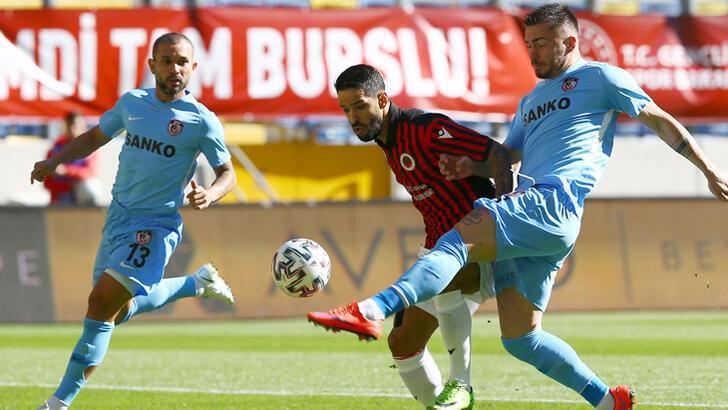 Gençlerbirliği-Gaziantep FK: 1-1