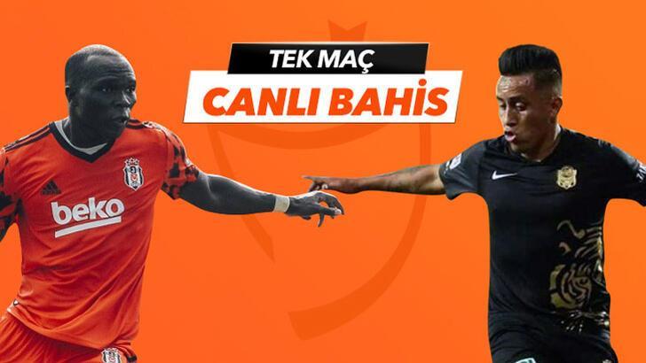Beşiktaş-Yeni Malatyaspor canlı bahis heyecanı Misli.com'da
