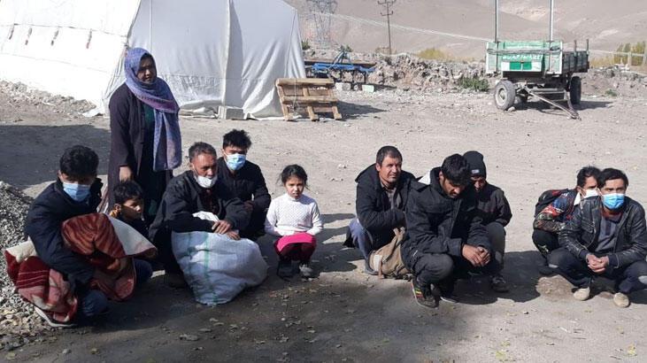Van'da 12 düzensiz göçmen yakalandı!
