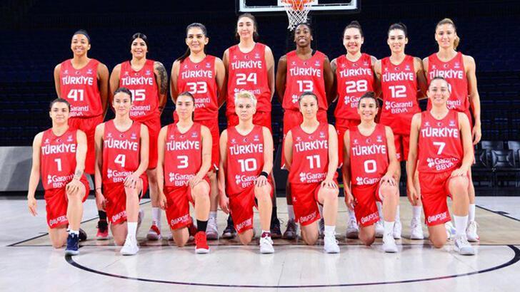Son dakika | A Milli Kadın Basketbol Takımı'nın aday kadrosu açıklandı