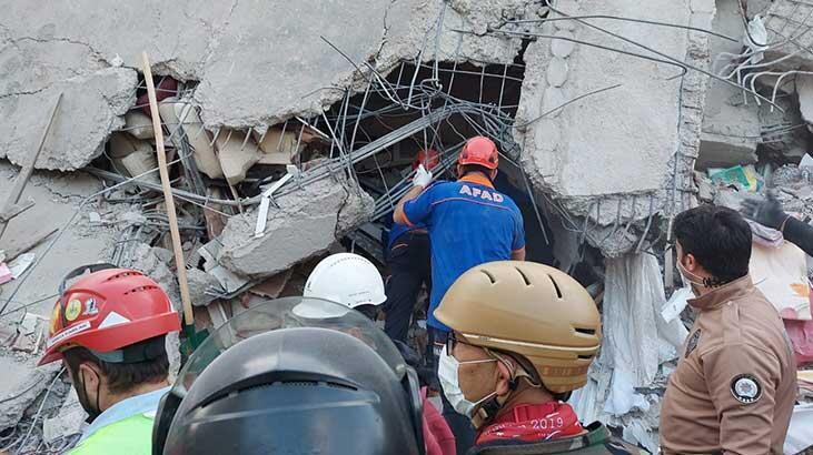Son dakika... İzmir'deki depremde can kaybı 109'a yükseldi