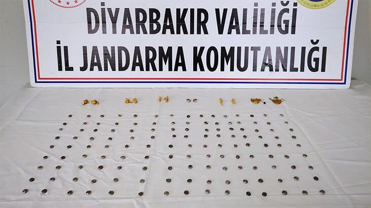 Diyarbakır'da 147 tarihi eser ele geçirildi