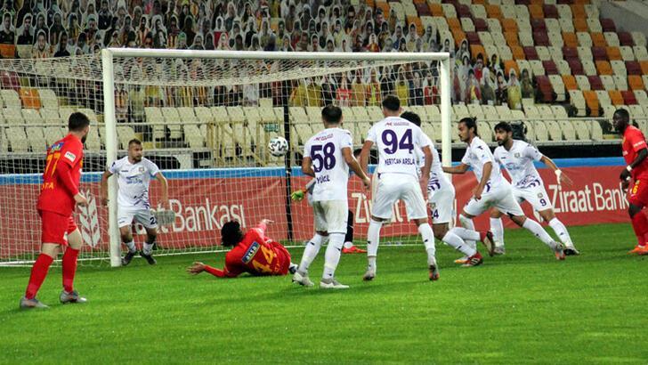 Yeni Malatyaspor-Artvin Hopaspor: 2-0