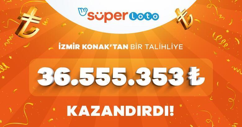 Süper Loto'da büyük ikramiye sahibini buldu! Tam 36 milyon 555 bin TL