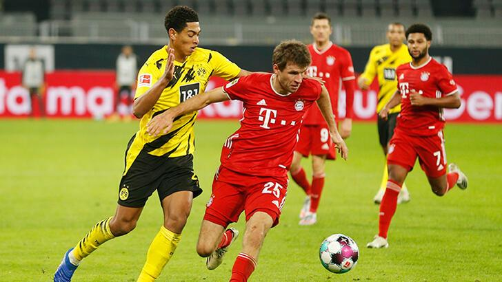 Bayern Münih, Dortmund'u devirdi! 5 gol sesi...