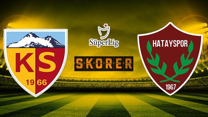 Hes Kablo Kayserispor - Atakaş Hatayspor maçı saat kaçta, hangi kanalda? Muhtemel 11'ler kimler?