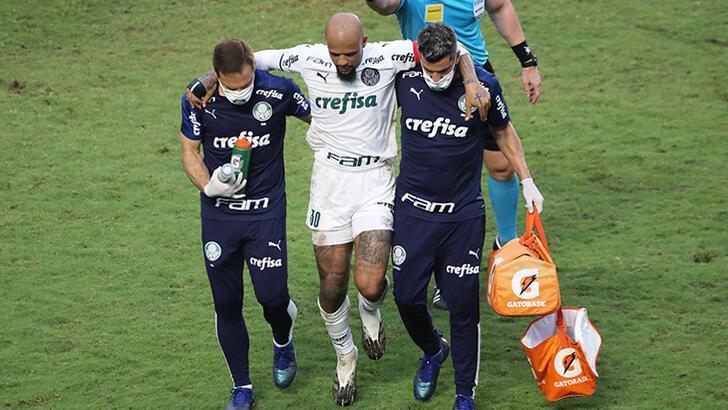 Son dakika - Galatasaraylı eski futbolcu Felipe Melo'nun ayak bileği kırıldı!