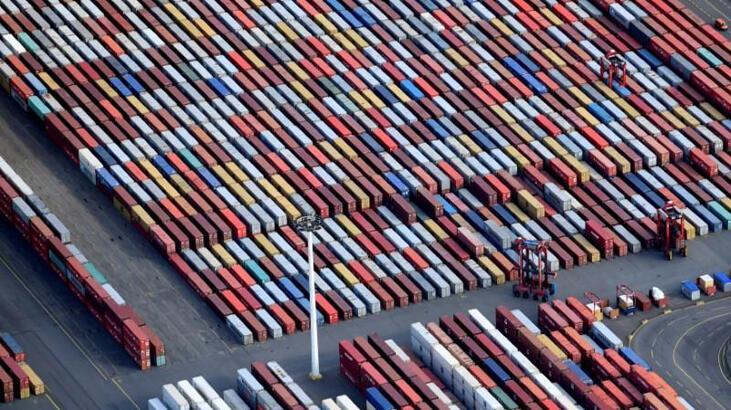 Almanya'da ihracat artışını 5. aya taşıdı