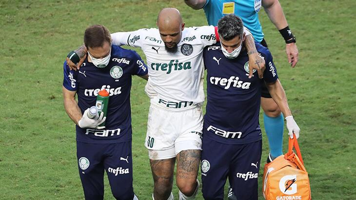 Felipe Melo 3-4 ay sahalardan uzak kalacak