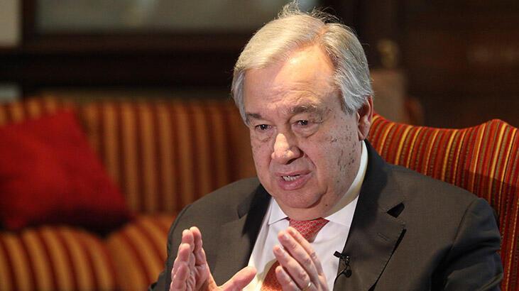 BM Genel Sekreteri Guterres, ABD başkanlığına seçilen Joe Biden'ı kutladı