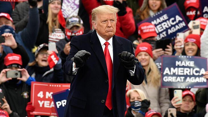 """Trump'tan seçimler için """"4 kritik eyalette mücadeleye devam"""" sinyali"""