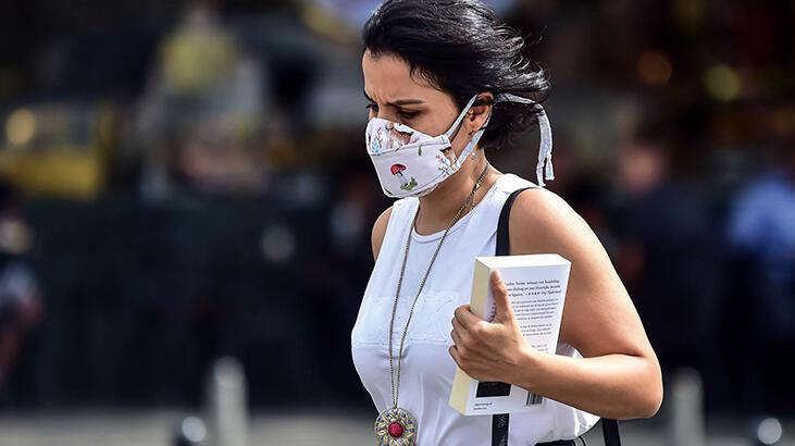 Maske kullanırken dikkat! Koronavirüs cildi de vurdu