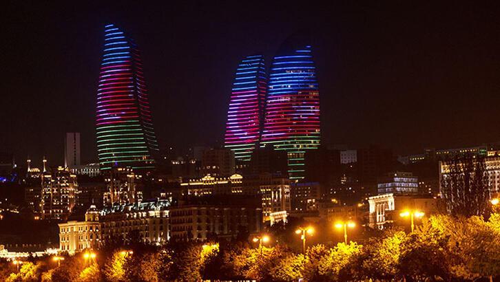 Burası Kafkasların en büyük şehri Bakü