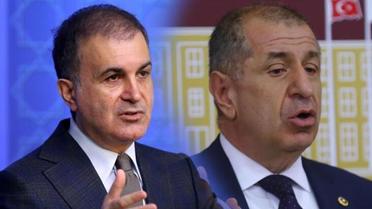 Son dakika... AK Partili Ömer Çelik'ten Ümit Özdağ'a tepki