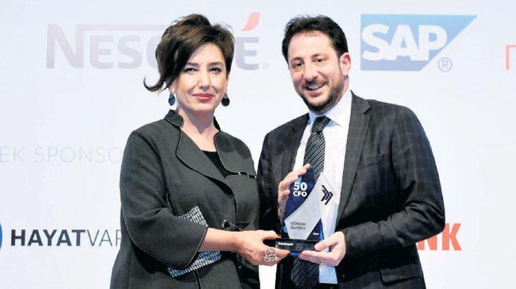 Yıldız CFO'lar ödülünü aldı