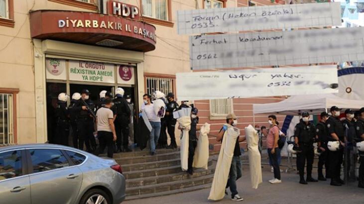 HDP binasında ele geçirilen ajandadan PKK'lı teröristlerin bilgileri çıktı